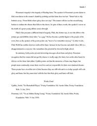 compare contrast mla format essay fleeting fame houseman updike  exemplar compare contrast mla format essay fleeting fame houseman updike