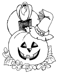 Small Picture Kids Halloween coloring pages