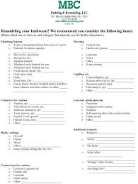 bathroom remodeling checklist. Contemporary Checklist Bathroom Remodel Checklist Throughout Bathroom Remodeling Checklist A
