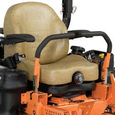 tiger cat zero turn rider power equipment suspension or soft ride seat