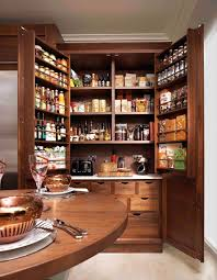 image of wood kitchen pantry cabinets best