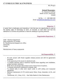 Resume Resume For Fresher Mechanical Engineer Samples