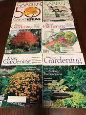 Small Picture Fine Gardening Magazine eBay