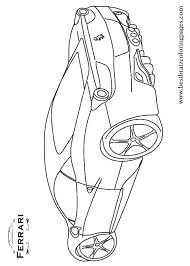 Ferrari 458 Coloring Pages At Getdrawingscom Free For Personal