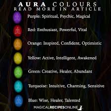 Aura Chart Whats The Color Of Your Aura Whats The Color Of Your Aura