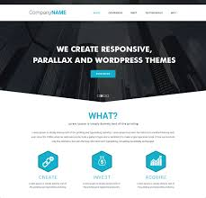 Free Downloads Web Templates 014 Web Templates Free Downloads Simple Parallax Website