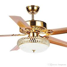 2018 2018 modern ceiling fan lamp led 3 changing light 5 reversible blades crystal chandeliers light with remote control mute energy saving fan from