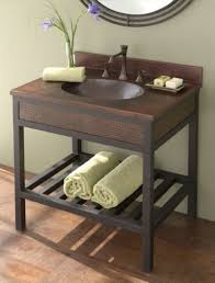 ideas custom bathroom vanity tops inspiring: interesting wooden vanity ideas for small bathrooms featuring wooden bathroom cabinet with sleek granite vanity top