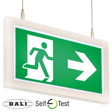 mexodus architecturalled exit signs emergency lighting mexodus architectural led exit signs dali and self test