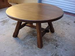 top rustic round coffee table industrial