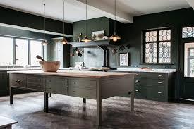 should accent walls be lighter or darker dark green kitchen trends