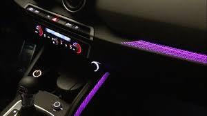 Audi A5 Interior Led Lights Audi Q2 Interior Detail Unique Led Ambient Light System