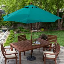 stylish outdoor coffee table with umbrella hole bitdigest design bunnings garden umbrella
