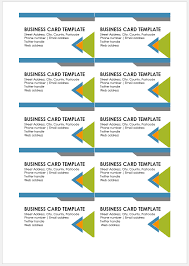 Free Printable Business Templates Free Printable Business Card Template Templateral