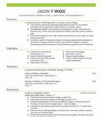 Long Term Substitute Teacher Resume Stunning 48 Secondary School Resume Examples In Connecticut LiveCareer