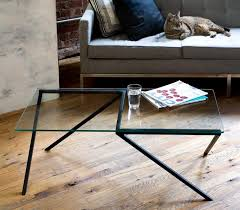 stainless steel furniture designs. Minimalist Style Of Coffee Table Design Made From Glass And Black Stainless Steel Furniture Designs