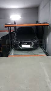 Car Parking Lift Design Top Quality Two Post Underground Parking Lift With German Design