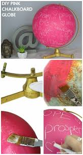 cool bedroom decorating ideas for teenage girls. Perfect Ideas DIY Teen Room Decor Ideas For Girls  Pink Chalkboard Globe Cool  Bedroom Decor Wall Art U0026 Signs Crafts Bedding Fun Do It Yourself Projects And  Inside Decorating For Teenage