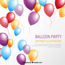 Party Template Balloon Party Template Free Vectors Ui Download