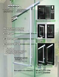 glass door exit device hardware prl architectural glasetal news