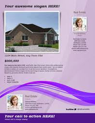 real estate listing templates dhavvied cf real estate flyer templates