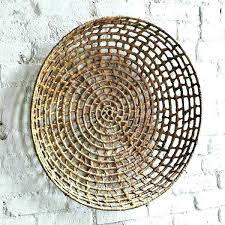 basket wall art wicker wall baskets fashionable design ideas woven basket wall art also wheels hand in natural colors wicker for the mandala open flat white