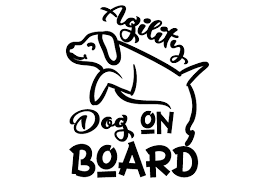 128,000+ vectors, stock photos & psd files. Agility Dog On Board Svg Cut File By Creative Fabrica Crafts Creative Fabrica