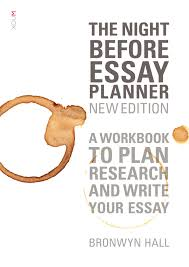 the night before essay planner new edition newsouth books full size image the night before essay