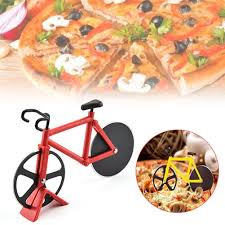 1PC <b>Bike</b> Round <b>Pizza Cutter Knives</b> Stainless Steel Pizza <b>Knife</b> ...