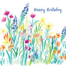 Spring Photo Cards Details About Happy Birthday Spring Meadows Greeting Card For Royal Trinity Hospice Charity