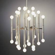 chandelier bamboo light design meurice chandelier modern lighting jonathan adler part 23