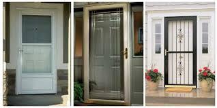 glass screen door storm doors with screens and designs