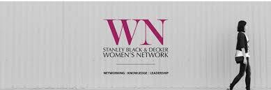 stanley black and decker logo. stanley black \u0026 decker global women\u0027s network launch and logo