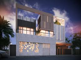 600 m private villa kuwait sarah sadeq architects  Islamic ArchitectureResidential  ArchitectureContemporary ...