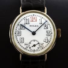 antique rolex watches the uk s premier antiques portal online rose gold vintage rolex officers trench watch 1916