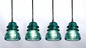glass insulator lights insulator light pendant lights made from antique glass insulators railroad insulator pendant light