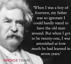 Mark Twain Quote Mark Twain Mark Twain Quotes Father Quotes Quotes