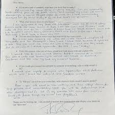 don t fight alone times jk rowling has inspired harry potter fans shoe questionnaire letter from jk rowling to emily waldo