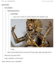 Image - 798373] | Skeleton War | Know Your Meme via Relatably.com