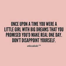 Girl Dream Quotes
