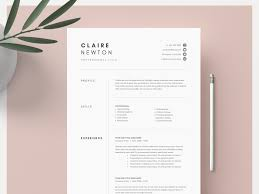 1 2 And 3 Page Word Resume Template By Resume Templates On Dribbble