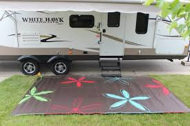 rv mat patio rug colorful fl design 9x12 area rugs carpets home garden