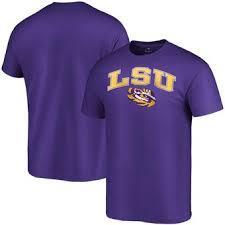 Purple Team Fanatics Tigers Branded - Lsu T-shirt Lockup