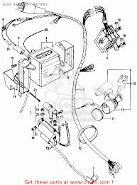 Honda ct90 trail 1969 k1 usa wire harness battery schematic