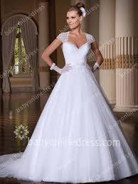 organza wedding gowns. Organza Wedding Dresses 2018 Straps Cap Sleeve Sweep Train A Line