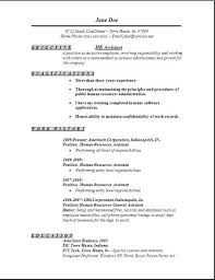 Summary Or Objective On Resume Hr Resume Objective Resume Profile Samples Hr Resume Objective Hr 40
