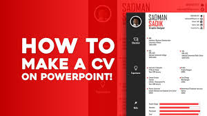 how to make a cv on powerpoint how to make a cv on powerpoint