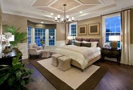 Traditional Master Bedroom with High ceiling, Crown molding, Alexander 5  Light Chandelier, Chandelier