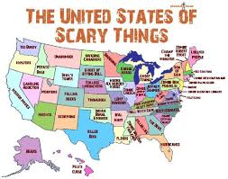 casperand 39 s scare school slither. awesome infographic: the united states of scary things casperand 39 s scare school slither
