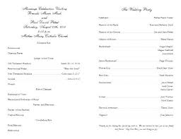 free catholic wedding program templates available in draw publisher and word formats rustic template pu